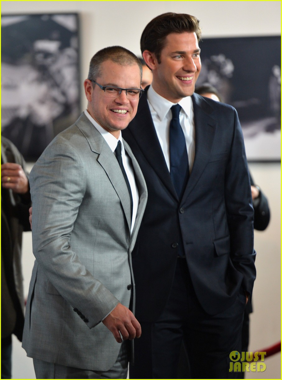 matt damon john krasinski promised land premiere 092771073