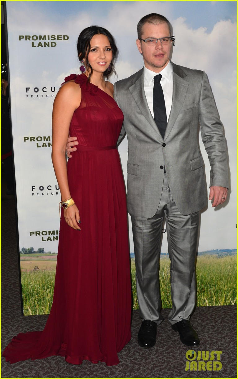 matt damon john krasinski promised land premiere 222771086