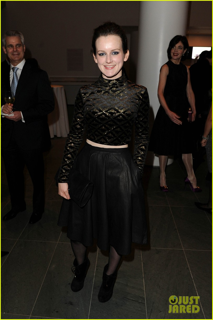 michelle dockery elizabeth mcgovern downton abbey evening 122773754