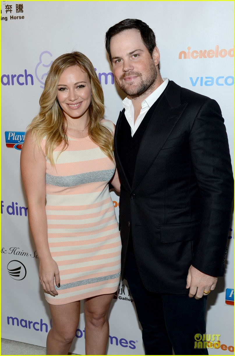 hilary duff mike comrie march of dimes 2012 022771443