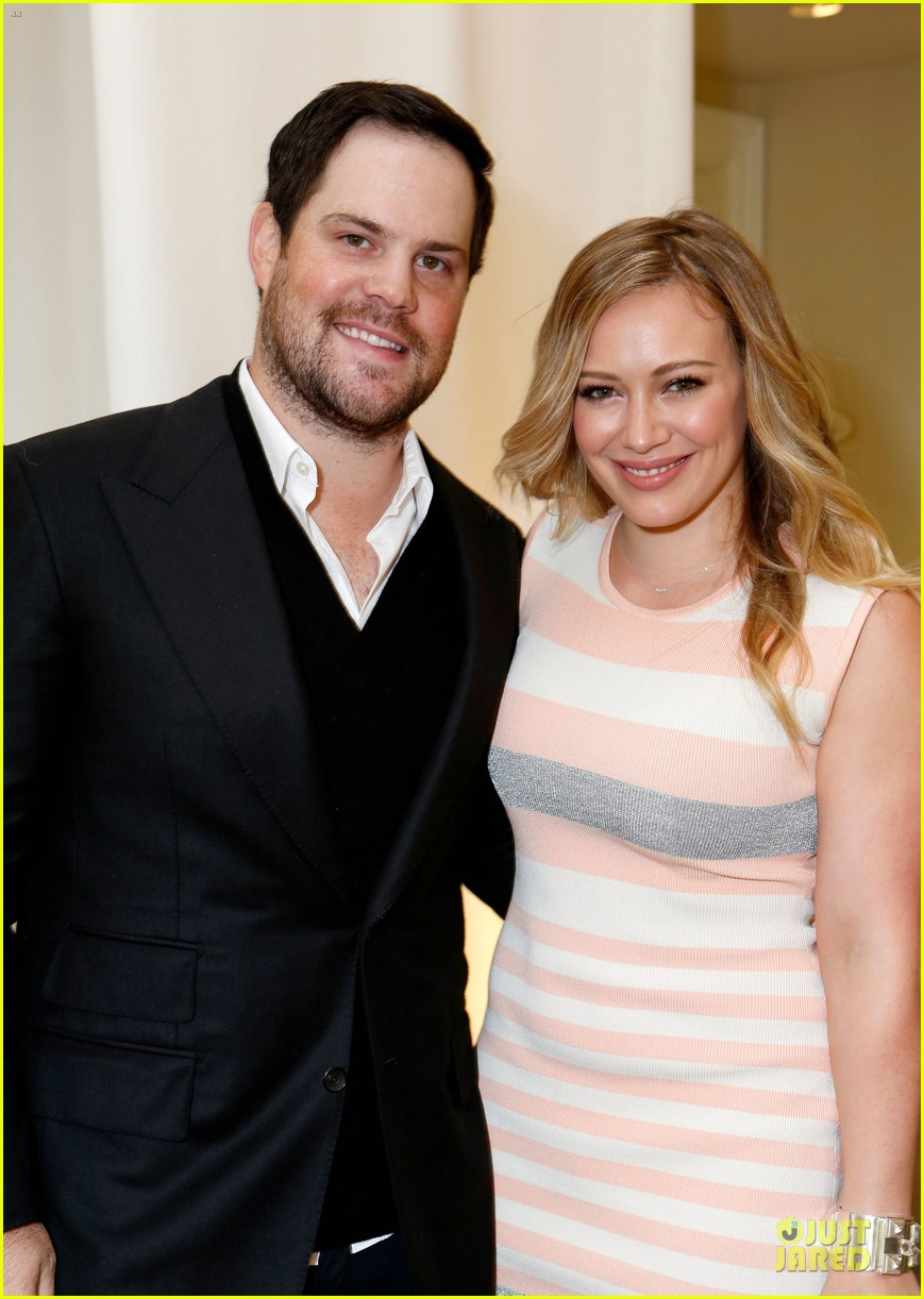 hilary duff mike comrie march of dimes 2012 072771448