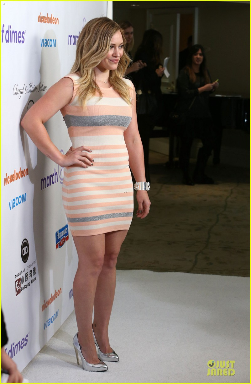 hilary duff mike comrie march of dimes 2012 19