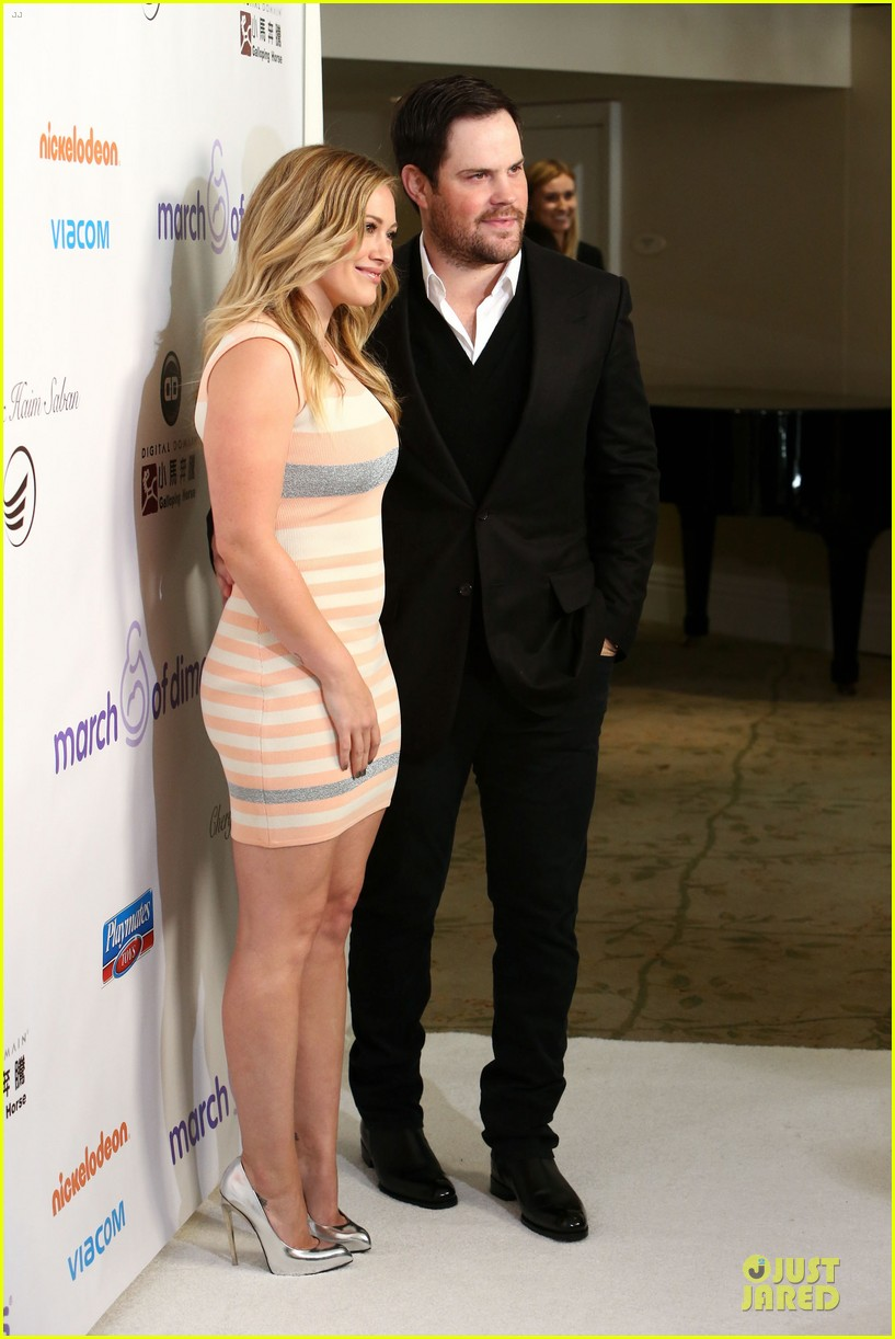 hilary duff mike comrie march of dimes 2012 202771461