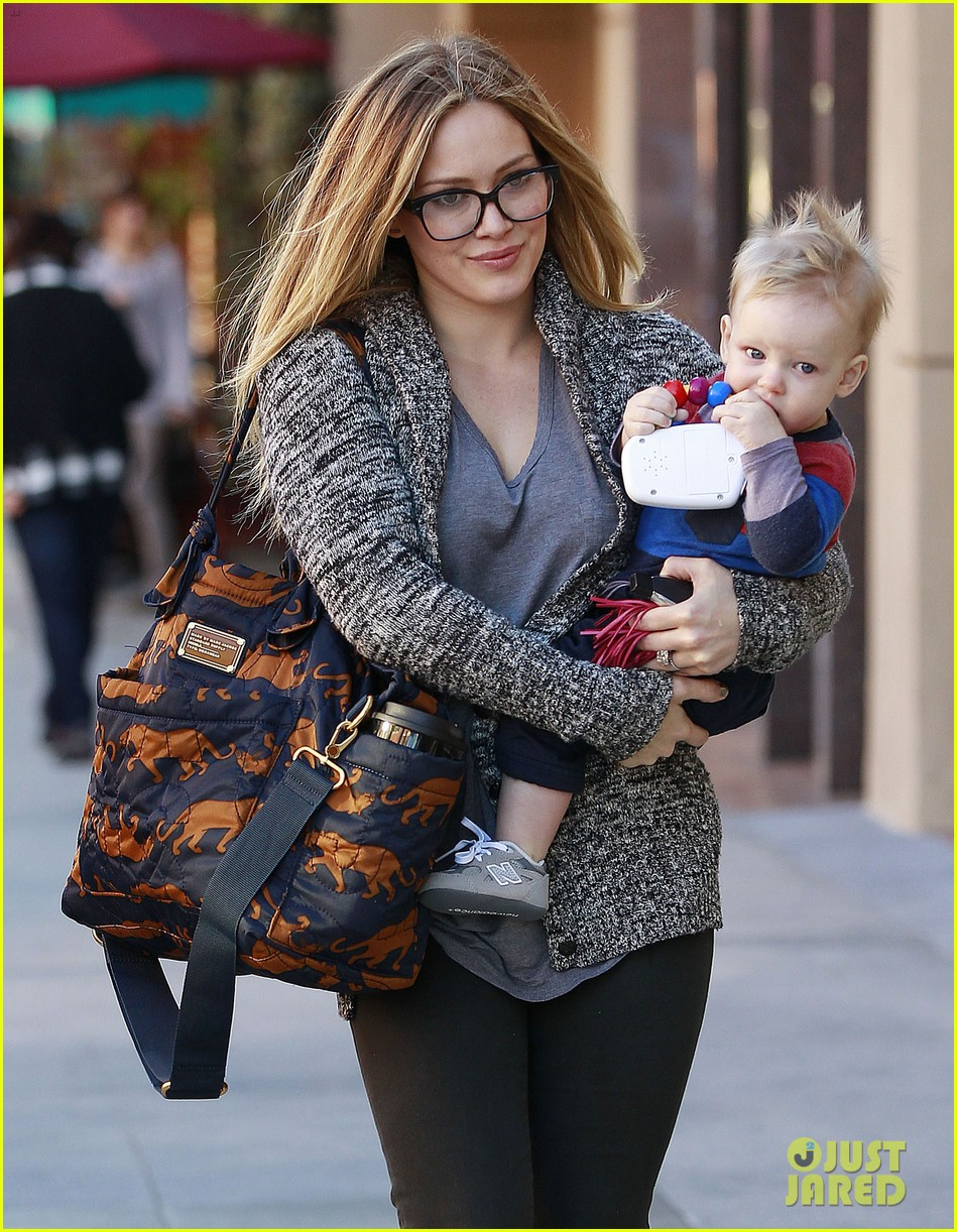 hilary duff doctors appointment with baby luca 012779175
