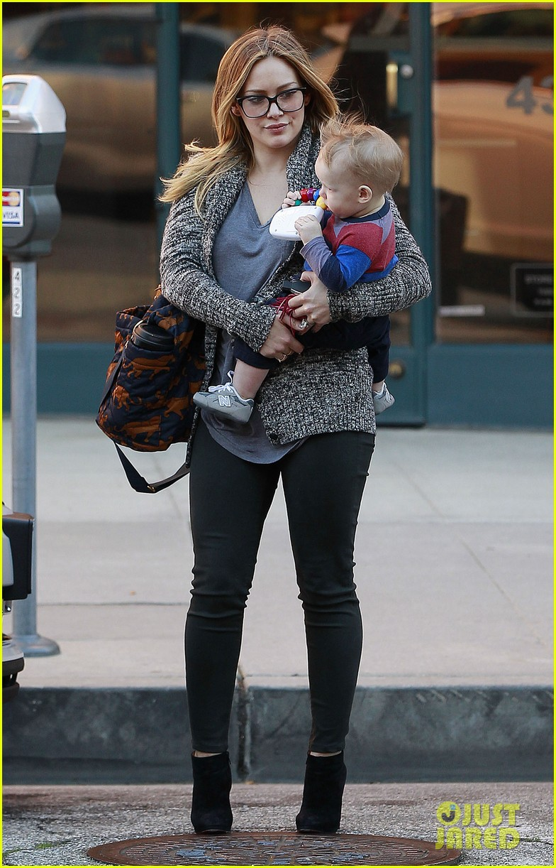 hilary duff doctors appointment with baby luca 022779176