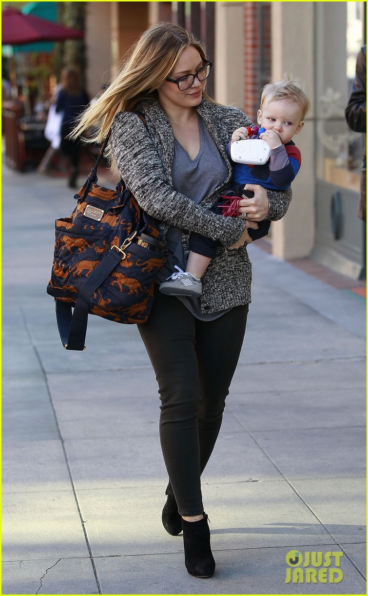 hilary duff doctors appointment with baby luca 072779181