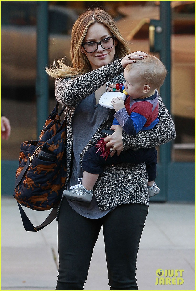 hilary duff doctors appointment with baby luca 092779183
