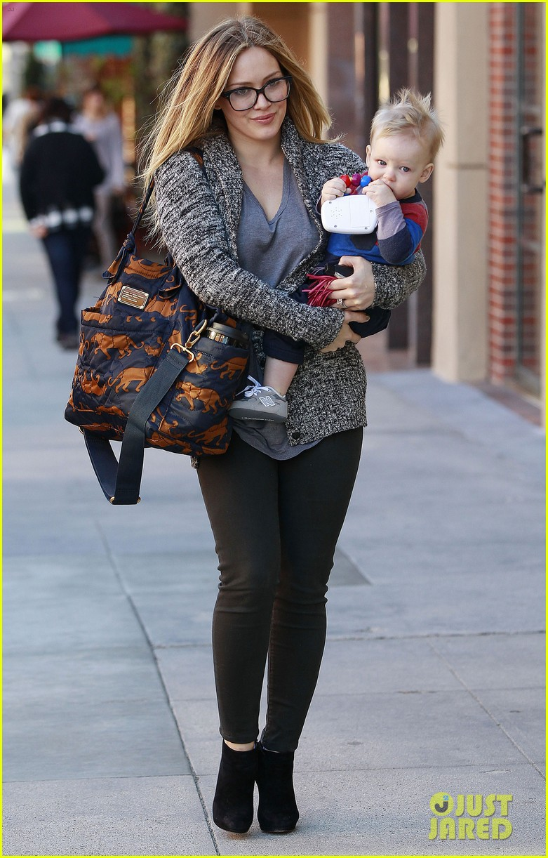 hilary duff doctors appointment with baby luca 102779184