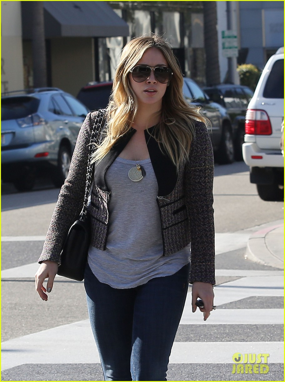 hilary duff liberated from hair extensions 012773373