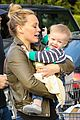 hilary duff & mike comrie grocery store kisses for luca 06