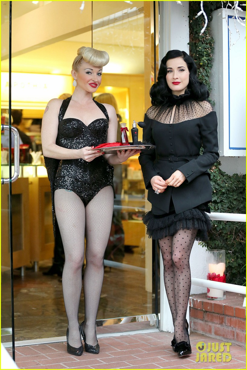 dita von teese rouge perfume launch 05