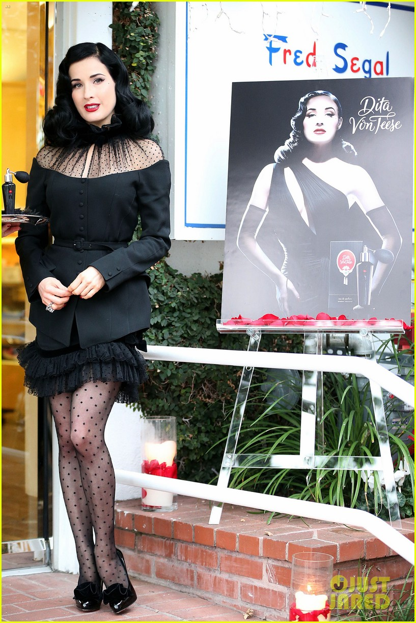 dita von teese rouge perfume launch 122776656