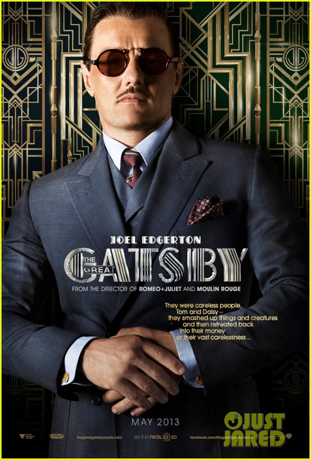 joel edgerton great gatsby poster blood felony set pics 012777973