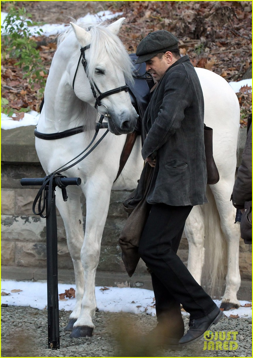 colin farrell horseback riding 162770582