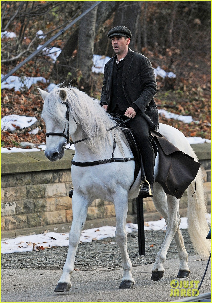 colin farrell horseback riding 262770592