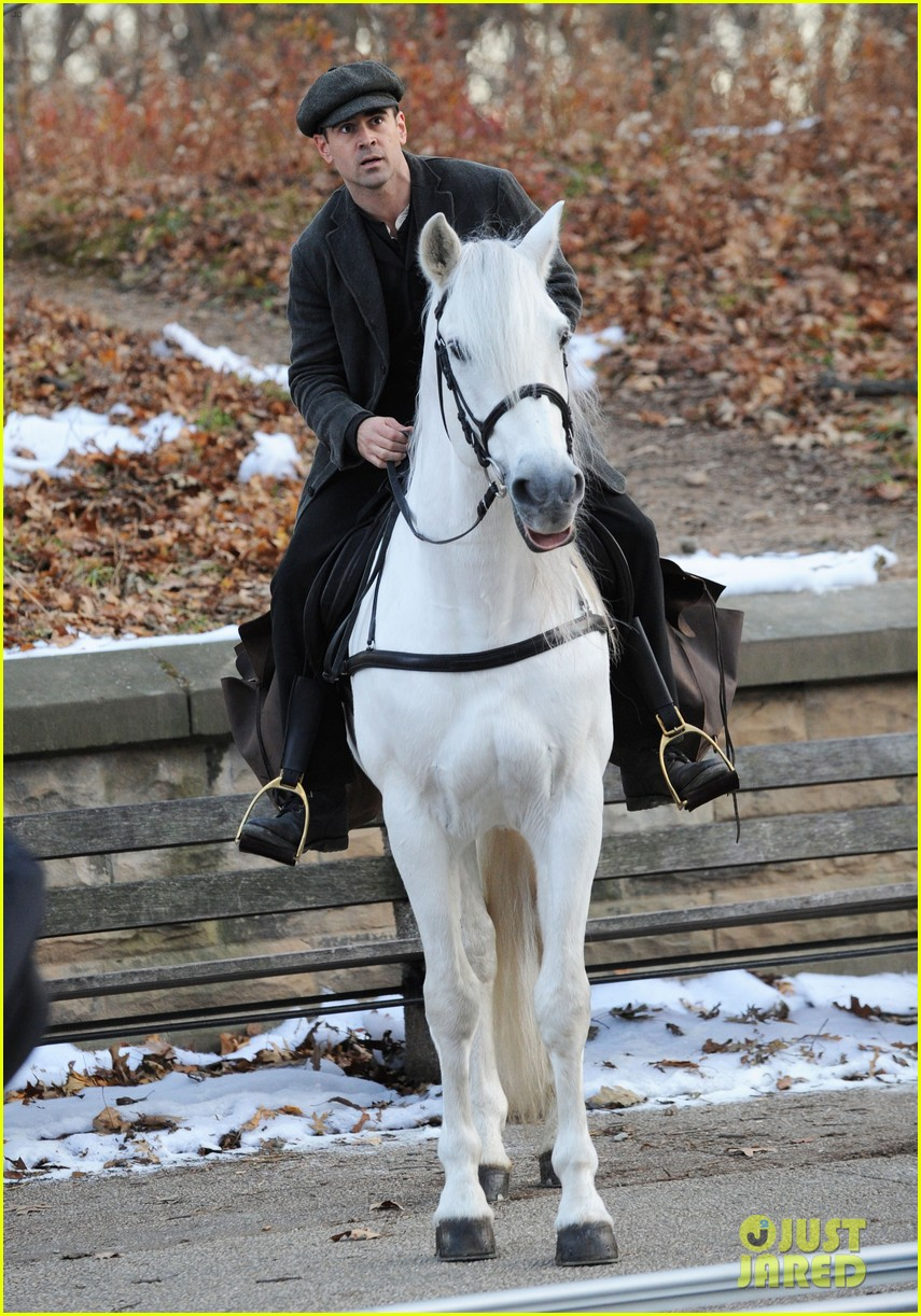 colin farrell horseback riding 322770598