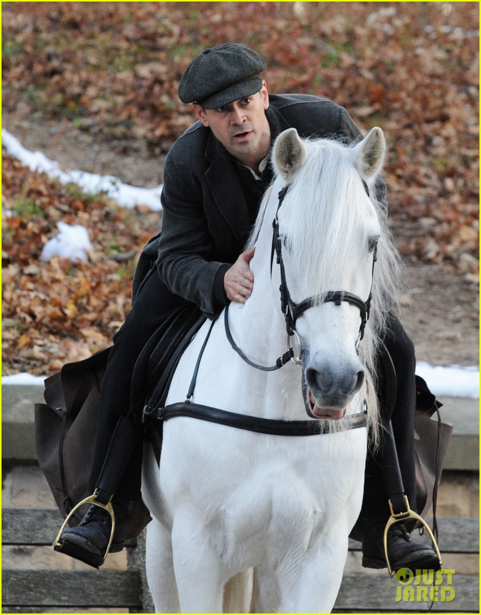 colin farrell horseback riding 332770599