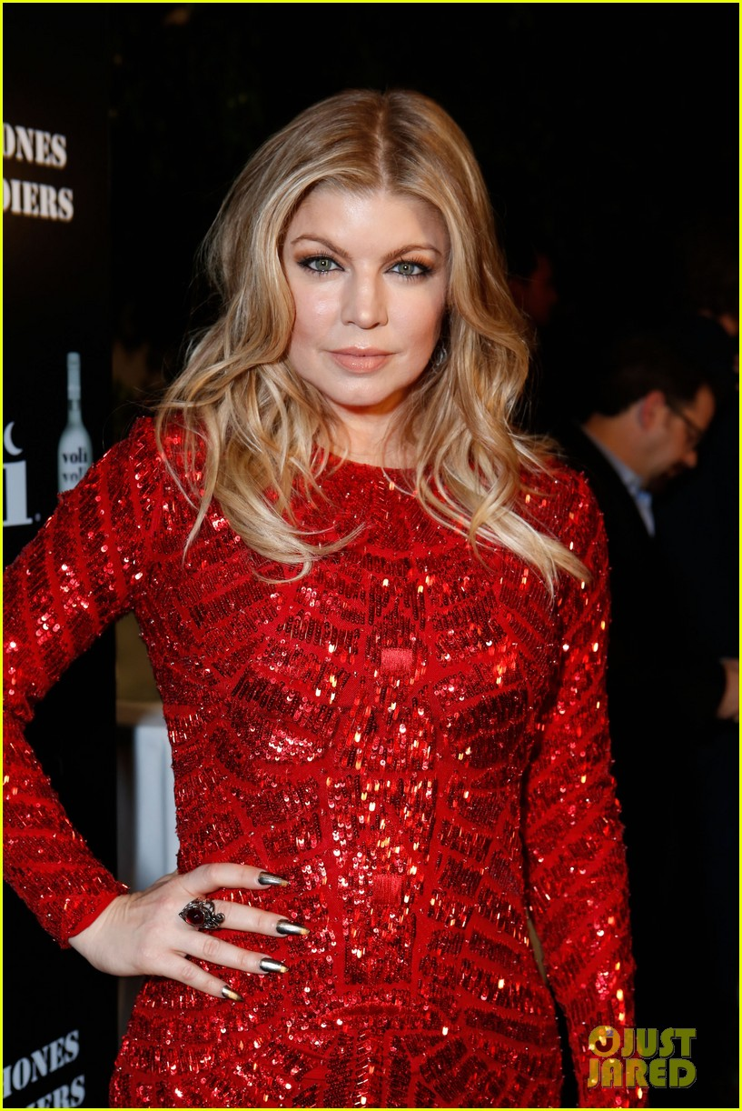 fergie charity holiday party host 022771222
