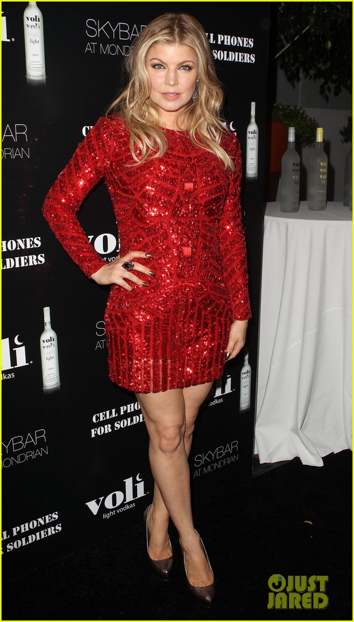 fergie charity holiday party host 142771234