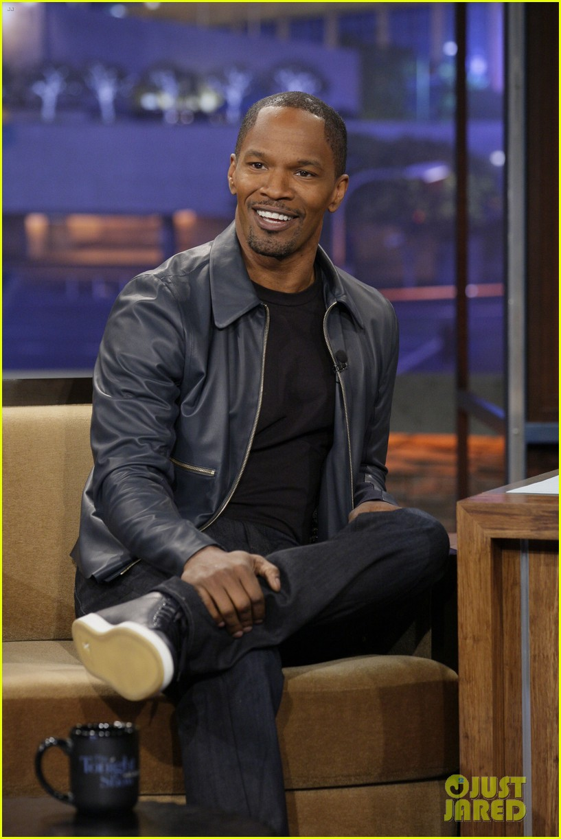 jamie foxx tonight show with jay leno appearance 012778669