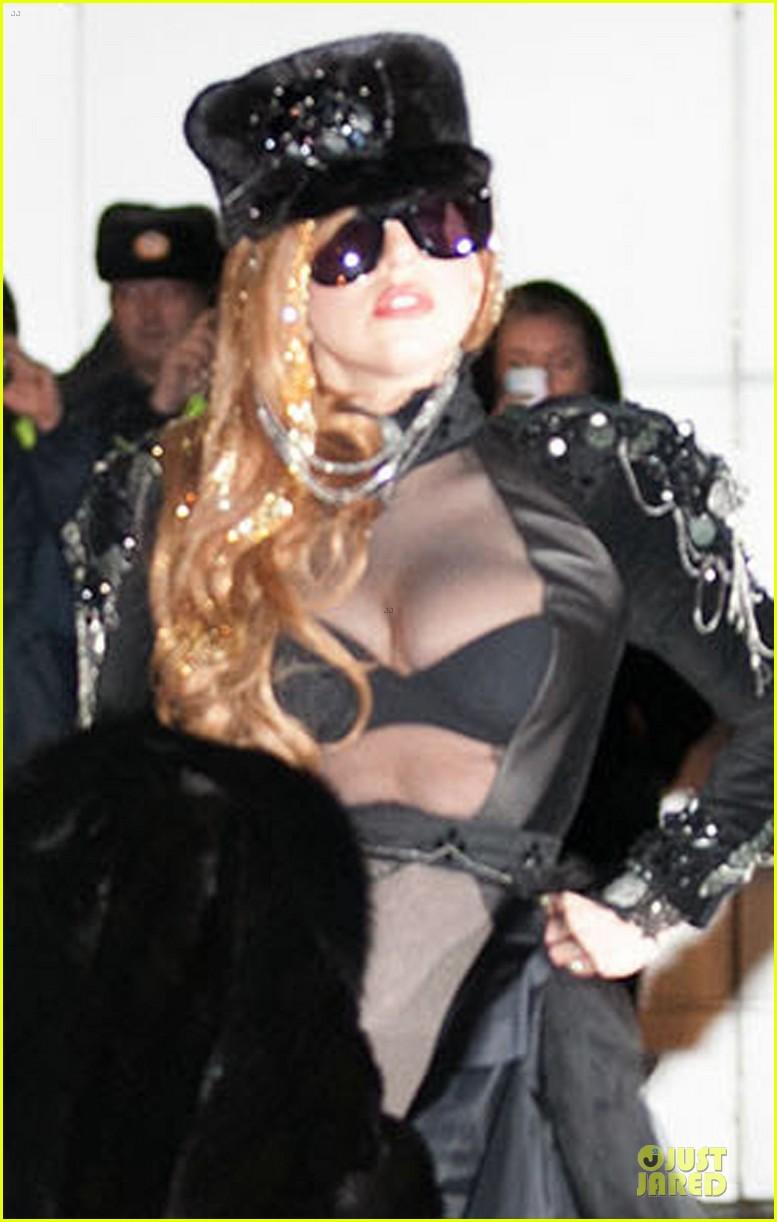lady gaga sheer bra revealing beauty 022774315