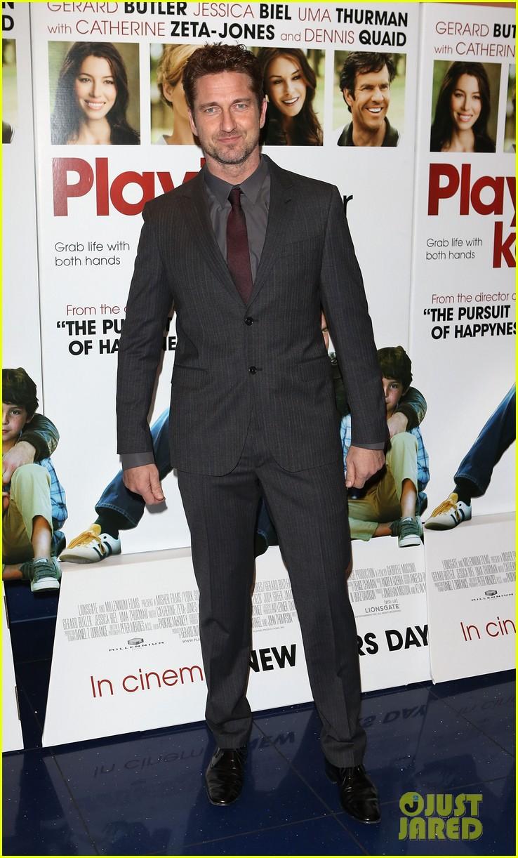gerard butler playing for keeps london screening 012777296