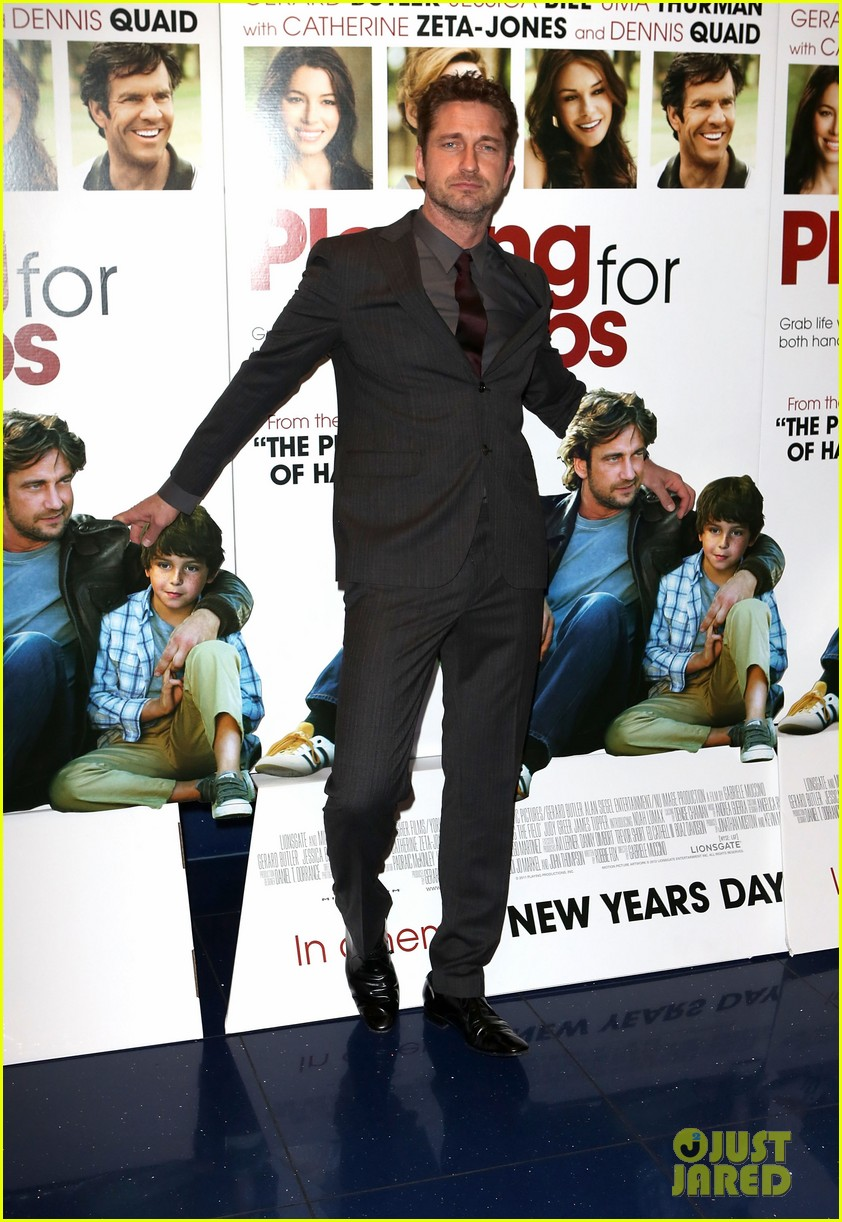 gerard butler playing for keeps london screening 032777298