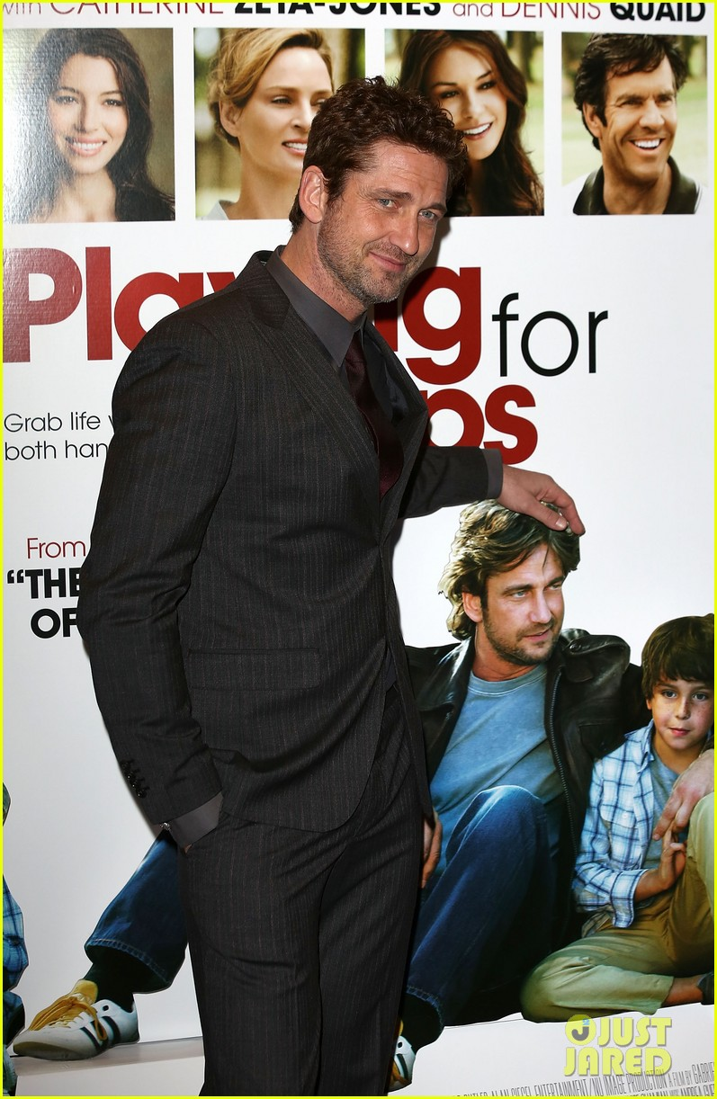 gerard butler playing for keeps london screening 062777301