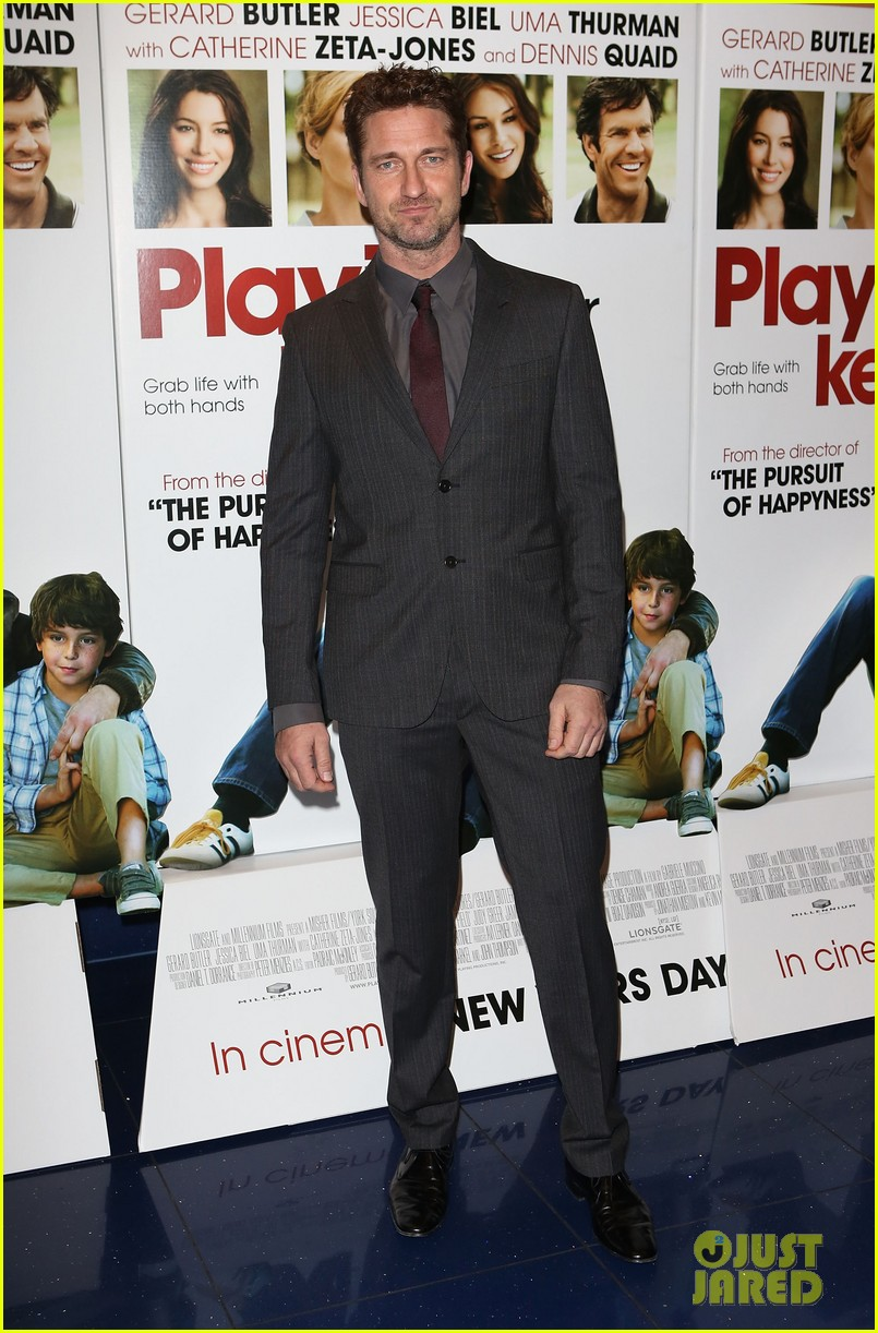 gerard butler playing for keeps london screening 072777302