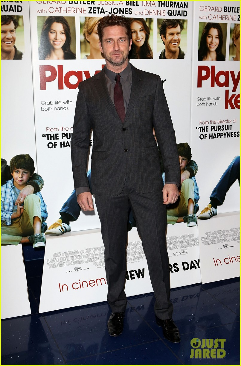 gerard butler playing for keeps london screening 082777303