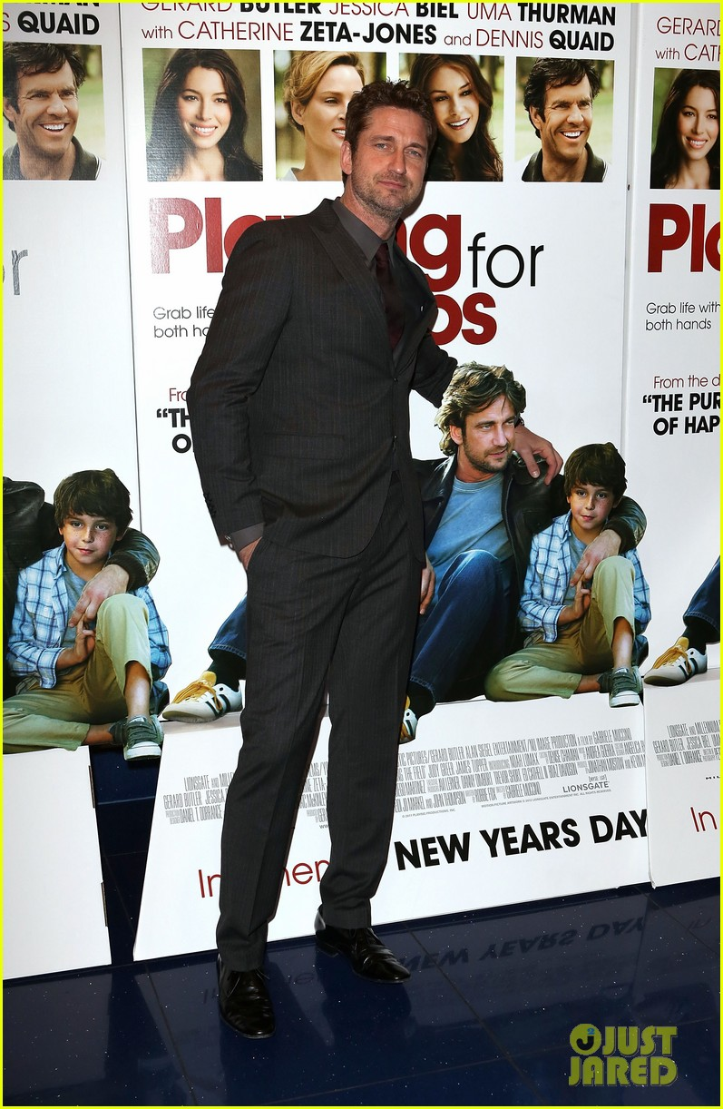gerard butler playing for keeps london screening 11