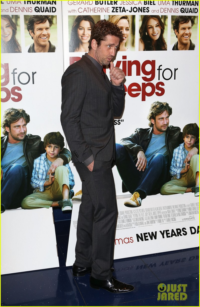 gerard butler playing for keeps london screening 132775399
