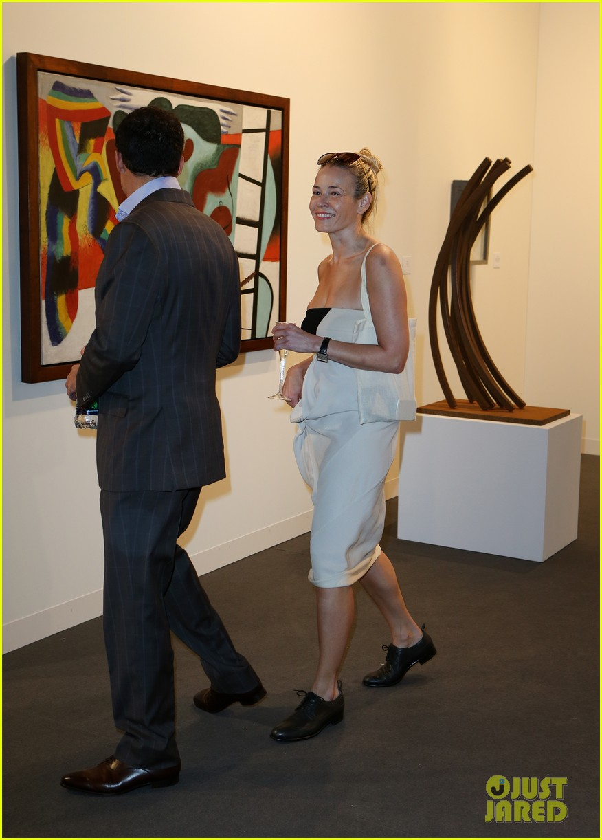 chelsea handler art basal miami beach vip preview 082770399