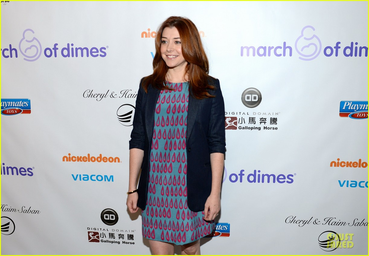 alyson hannigan & tom hanks march of dimes 2012 09