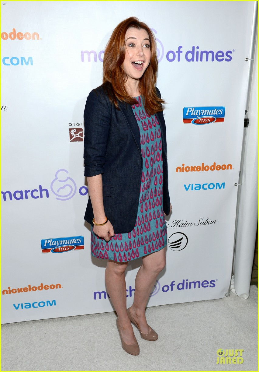 alyson hannigan & tom hanks march of dimes 2012 122771473