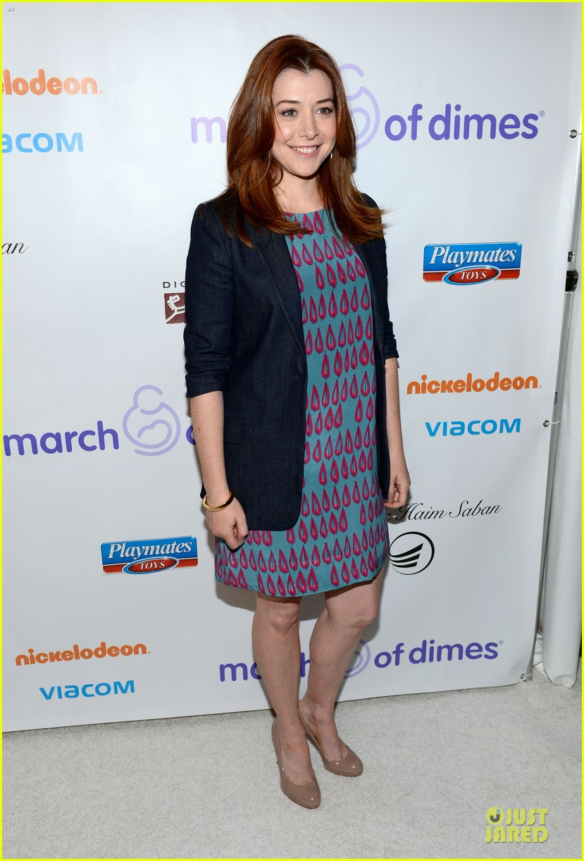 alyson hannigan & tom hanks march of dimes 2012 13