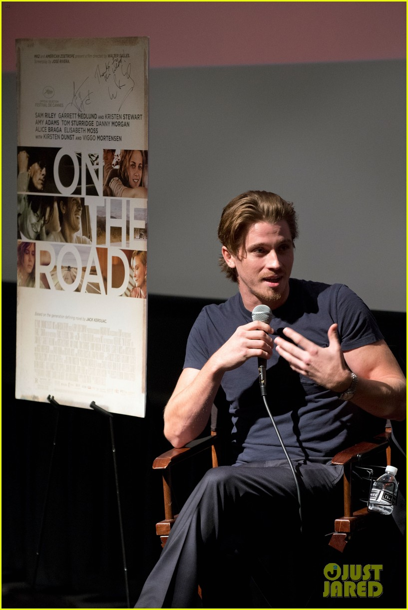 garrett hedlund on the road screening for the wrap 05