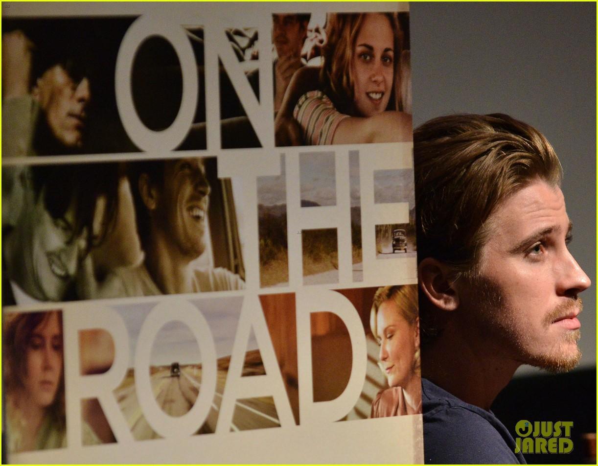 garrett hedlund on the road screening for the wrap 062770508