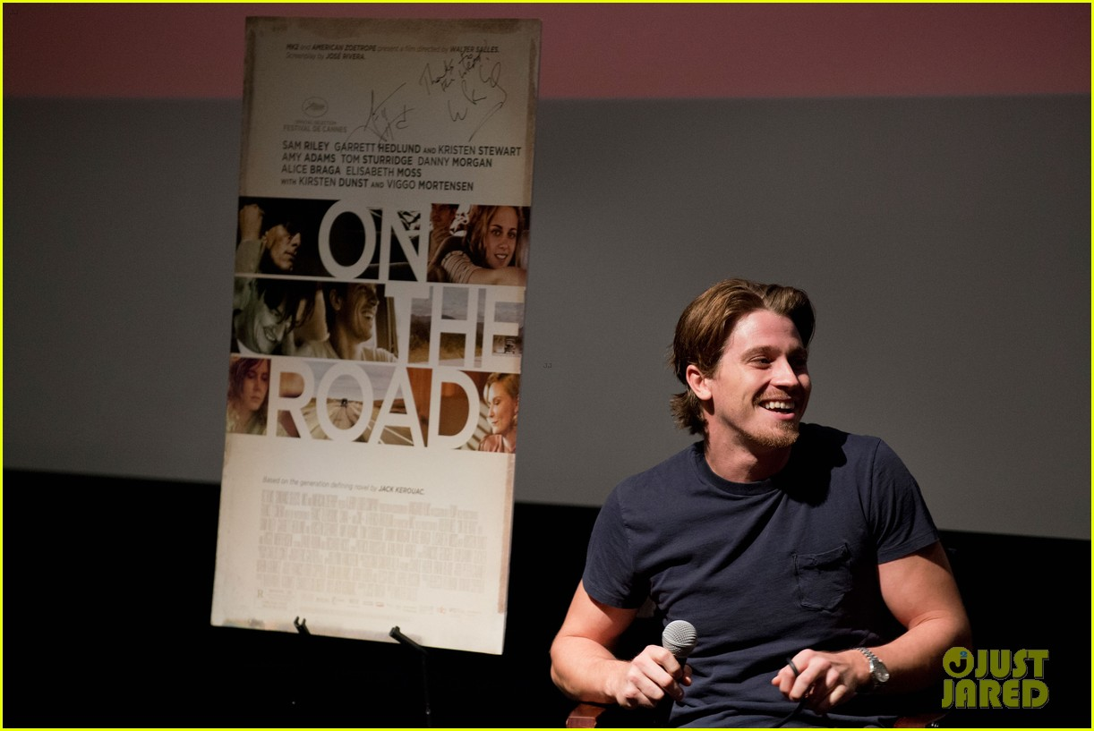 garrett hedlund on the road screening for the wrap 13