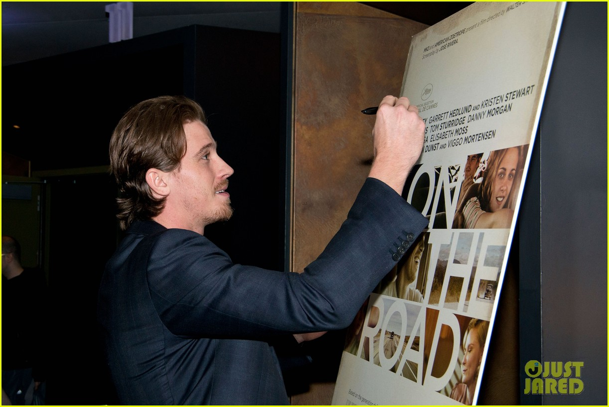 garrett hedlund on the road screening for the wrap 142770516