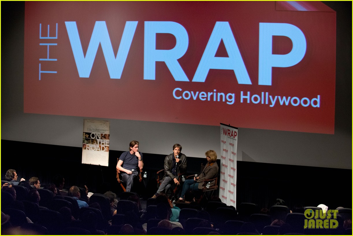 garrett hedlund on the road screening for the wrap 172770519