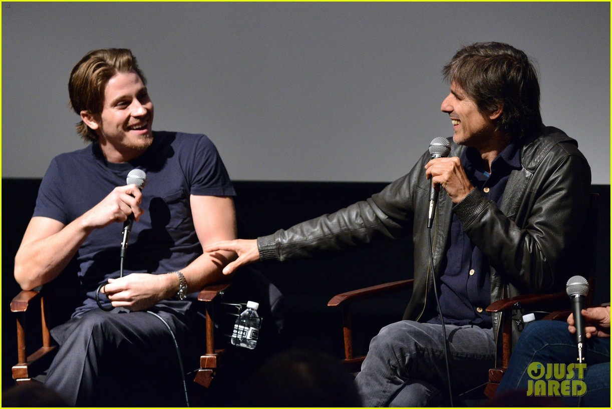 garrett hedlund on the road screening for the wrap 182770520