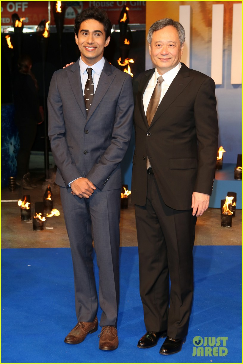 tom hiddleston suraj sharma life of pi uk premiere 11