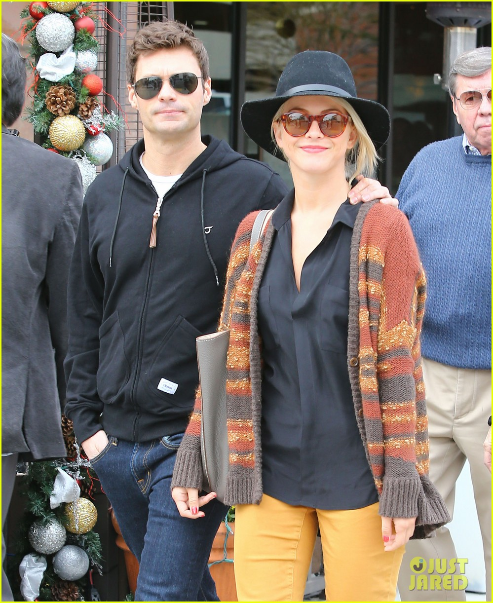 julianne hough ryan seacrest sunny saturday in beverly hills 042779973