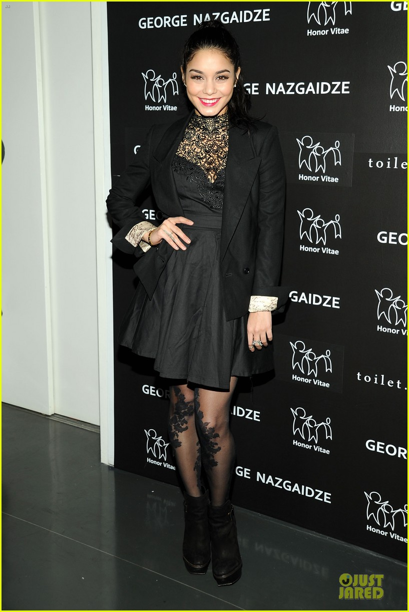 vanessa hudgens charity meets fashion holiday celebration 012777542