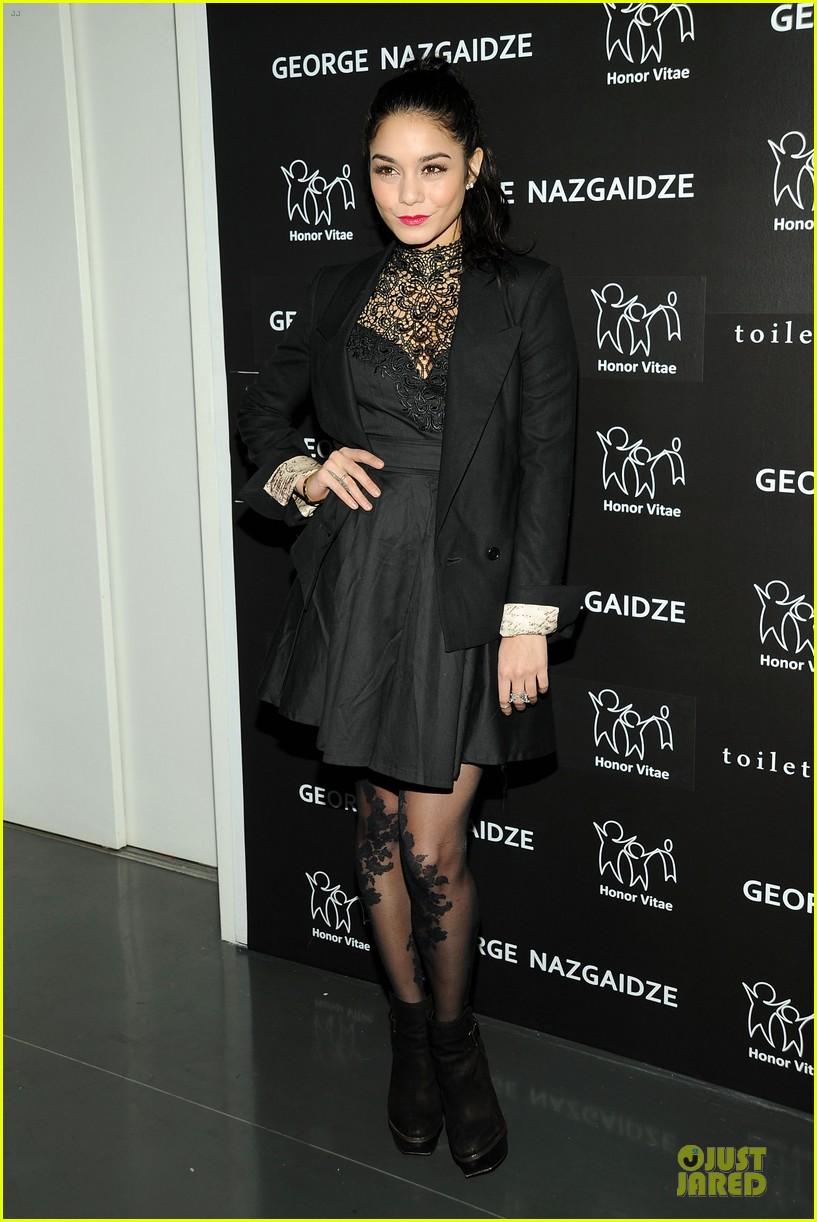 vanessa hudgens charity meets fashion holiday celebration 032777544