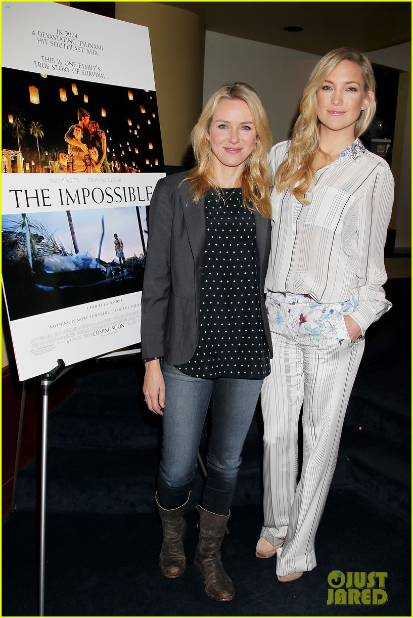 kate hudson the impossible screening with naomi watts 032768556
