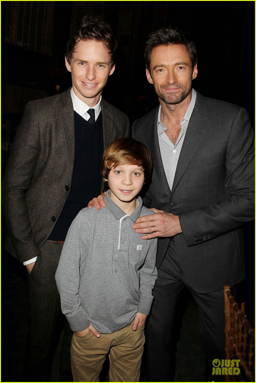 hugh jackman & eddie redmayne les miserables luncheon 212774019