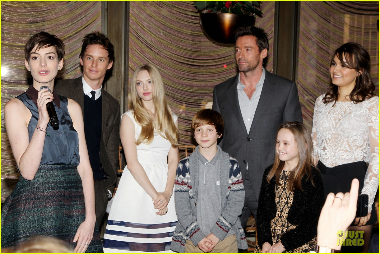 hugh jackman & eddie redmayne les miserables luncheon 342774032