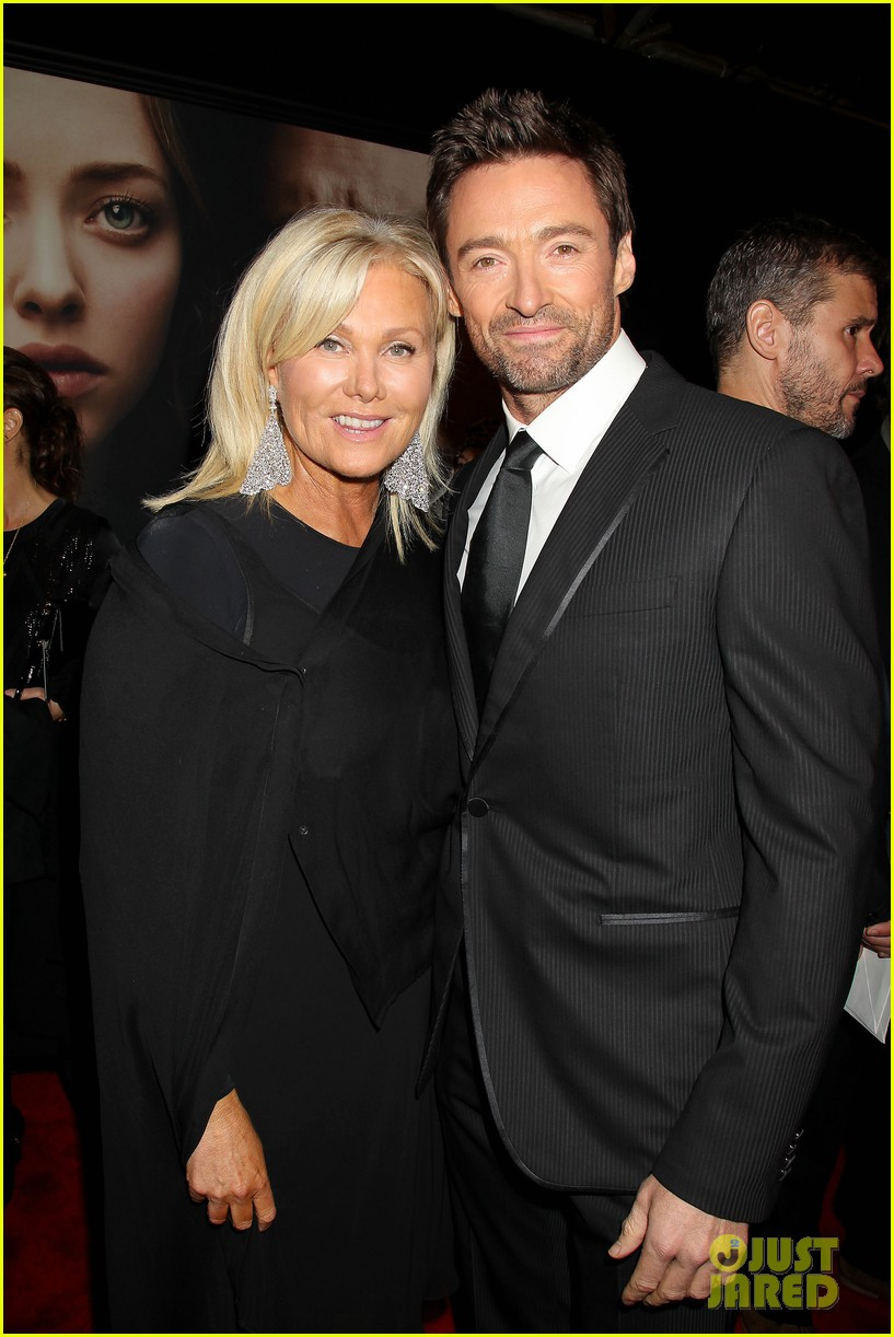 hugh jackman russell crowe les miserables nyc premiere 182773313